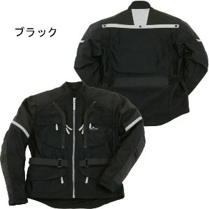Jアンブル KD0112 メッシュジャケット KD-0112 ブラック  バイク用 春夏モデル|garager30