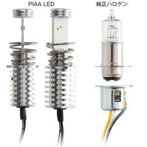 PIAA ピア MLE5 LEDバルブ(PH12タイプ) 2輪用ヘッドライトバルブ バイク用 車検対応 12V40/40W 6000K|garager30|03