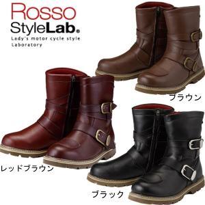 ROSSO ROB-201 レディース防水ライディングブーツ ROB201 ロッソ|garager30