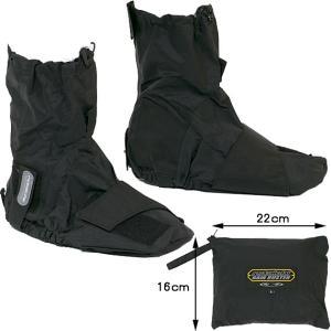 RSタイチ RSR210 レインバスター ブーツカバー ショートタイプ 自転車にも 雨具|garager30