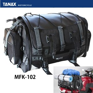 TANAX タナックス MFK-102 MFK-221 キャンピングシートバッグ2 バイク用リアバッグ MFK102 MFK221|garager30