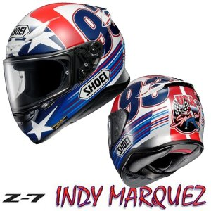 SHOEI  Z-7  インディーマルケス INDY MARQUEZ フルフェイスヘルメット Z7 ショウエイ ゼットセブン|garager30