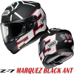 SHOEI  Z-7  マルケス ブラック アント MARQUEZ BLACK ANT フルフェイスヘルメット Z7 ショウエイ ゼットセブン