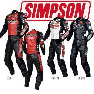 シンプソン SST-910 2PCレザースーツ SST910 SIMPSON 2ピース|garager30