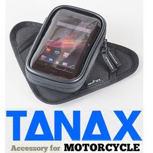 TANAX タナックス MFK194 スマホポケットクイック マグネット式スマートフォンタンクバッグ MFK-194|garager30