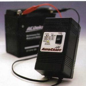 オートクラフト オートバイバッテリー用 トリクル充電器 HC12-1|garager30