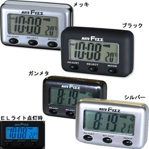 TANAX タナックス MF4666 MF4667  ELクロック  バイク用時計|garager30