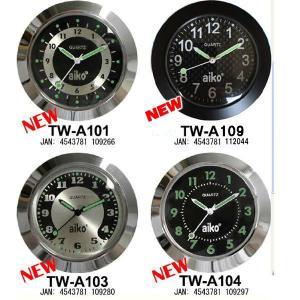 AIKO パイプハンドルウォッチ ミッドマウントタイプ バイク用時計 アイコ TWA101 TWA104 TWA109|garager30