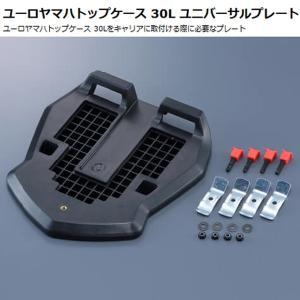 ワイズギア ユーロヤマハトップケース30L用ユニバーサルプレート シグナスX(BF9)マグザムBW'S125  Q5K-YSK-001-P71|garager30