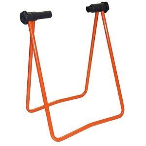ガレージ・ゼロ 自転車 ディスプレイスタンド 折り畳み式2 オレンジ/自転車スタンド/メンテナンススタンド|garagezero