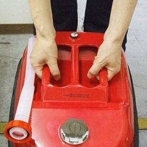 ガレージ・ゼロ ガソリン携行缶 横型 赤 20L ×3個セット GZKK03[消防法適合品]/亜鉛メッキ鋼板|garagezero|02