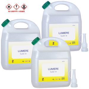 ガレージ・ゼロ 燃料用アルコール 4L×3個|garagezero