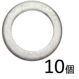 ガレージ・ゼロ ドレンパッキン アルミ 10枚入り(5枚入り×2袋)  [M12×外径18mm×厚さ2.0mm]ワッシャー/シーリングワッシャー/郵送で送料無料 garagezero