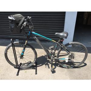 ガレージ・ゼロ 自転車スタンド 停め置きL字型 ブラック×2個|garagezero|03