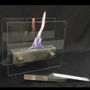 ガレージ・ゼロ バイオエタノール暖炉 ガラススタンドタイプ (屋内・屋外両用)