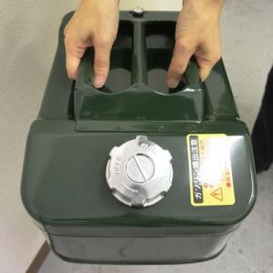ガレージ・ゼロ ガソリン携行缶 20L 緑 ワイド縦型 GZKK35[UN規格・消防法適合品]/ガソリンタンク/亜鉛メッキ鋼板 garagezero 02