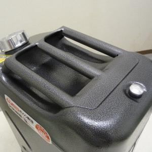 ガレージ・ゼロ ガソリン携行缶 縦型 [黒/サンディマット] GZKK51UN規格/消防法適合品/ガソリンタンク/亜鉛メッキ鋼板|garagezero|03