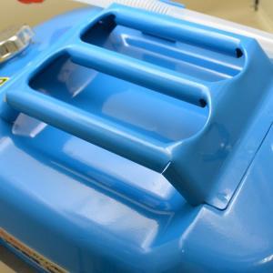 ガレージ・ゼロ ガソリン携行缶 水色(薄青) 横型 20L GZKK56[蝶ネジ型エア調整ネジタイプ/消防法適合品]/亜鉛メッキ鋼板 /送料無料(北海道・沖縄・離島は除く)|garagezero|03