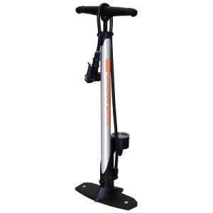 ガレージ・ゼロ 自転車空気入れ フロアポンプ/ゲージ付き[160psi(11bar)]  (アルミ製)/クレバーバルブ搭載/仏式・米式・英式バルブ対応|garagezero
