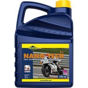 Putoline バイク用 4サイクルエンジンオイル 4L [NANO TECH 4+] 10W-40 SM(MA2) 100%化学合成油|garagezero