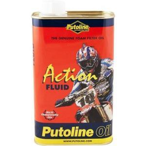 Putoline オフロードバイク用 エアフィルターオイル 1L [ACTION FLUID]|garagezero