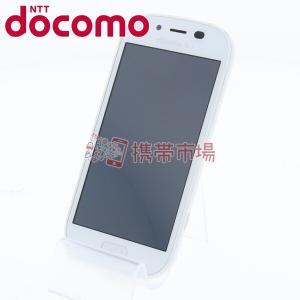 docomo F-06F らくらくスマートフォン 3 ホワイト  スマホ 本体  中古  保証あり ...