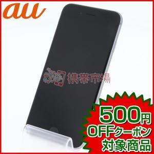 au iPhone6S 16GB スペースグレイ 美品 Aランク 中古 本体 保証あり 白ロム スマ...