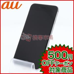 au iPhone6S 16GB スペースグレイ  C+ランク 中古 本体 保証あり 白ロム スマホ...