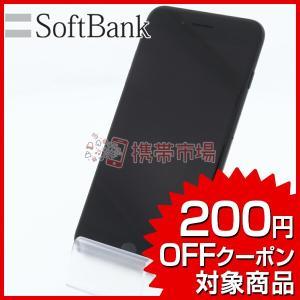 SoftBank iPhone7 Plus 128GB ブラック 美品 Bランク 中古 本体 保証あ...