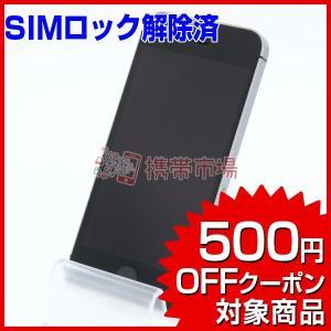 SIMフリー SoftBank iPhoneSE 32GB スペースグレイ 美品 Bランク 中古 本...