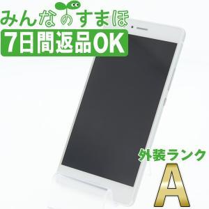 UQモバイル P9 lite PREMIUM ホワイト SIMフリー 中古 本体 Aランク スマホ ...