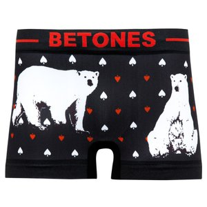 BETONES/ビトーンズ ANIMAL アニマル「シロクマ」  メンズ ボクサーパンツ アンダーウェア|garakuta-ga