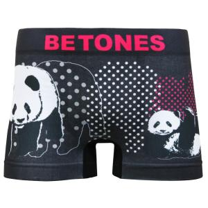 BETONES/ビトーンズ ANIMAL4 PANDA  メンズ ボクサーパンツ アンダーウェア|garakuta-ga
