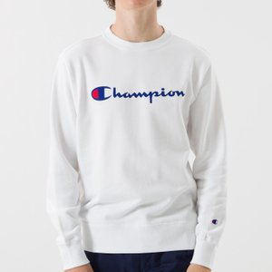 Champion チャンピオン クルーネックスウェット ブラック ネイビー ホワイト メンズ 長袖 無地 BASIC ベーシック C3-H004|garakuta-ga