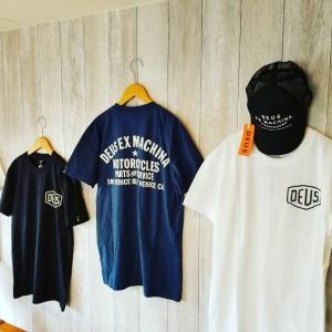 DEUS EX MACHINA デウスエクスマキナ  VENICE ADDRESS Tee アドレスTシャツ 半袖 メンズ|garakuta-ga