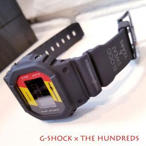 限定 G-SHOCK DW-5600HDR-1JR THE HUNDREDS コラボレーションモデル 腕時計 カシオ CASIO ジーショック Gショック 新品 国内正規品|garakuta-ga