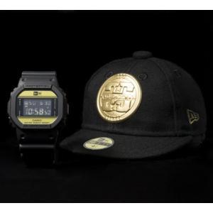 限定 G-SHOCK DW-5600NE-1JR NEWERA コラボ 腕時計 ジーショック Gショック G-ショック カシオ CASIO メンズ|garakuta-ga