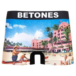 BETONES / ビトーンズ FAKE メンズ ボクサーパンツ アンダーウェア フリーサイズ ブラック ハワイ UFO|garakuta-ga