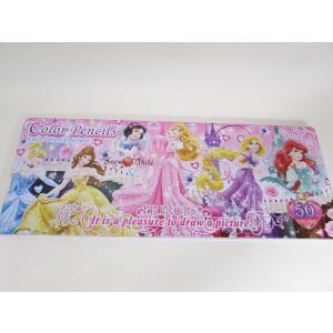 Disney ディズニー 50色 色鉛筆セット プリンセス|garallyrenge