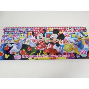Disney ディズニー 50色 色鉛筆セット ミッキーマウス|garallyrenge