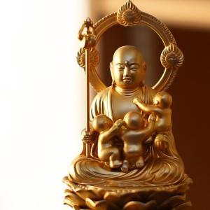 仏像 子安地蔵菩薩 15cm|garandou|06
