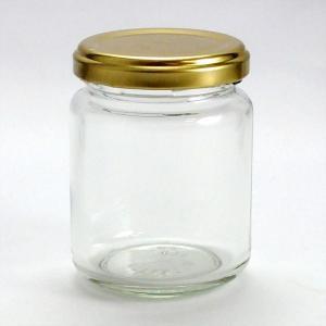 ガラス瓶 ジャム瓶 ガラス保存容器 J140ST-84本セット- 140ml jam jar|garasubin