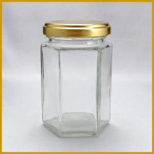 ガラス瓶 ジャム瓶 S150-6角ST 150ml|garasubin
