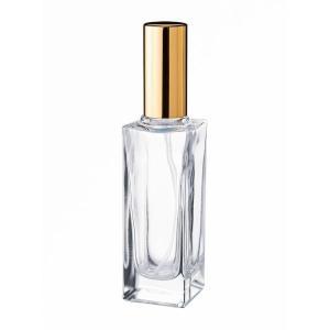 30ml角瓶スプレー(金・銀)<遮光瓶 ガラス瓶  ビン 瓶  保存ビン 保存瓶>|garasubin