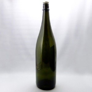 ガラス瓶 酒瓶 清酒1800-DS(一升瓶)Dスモーク 1800ml|garasubin