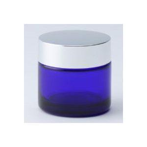 ガラス瓶 クリーム瓶 30g 銀CAP C30銀キャップ|garasubin