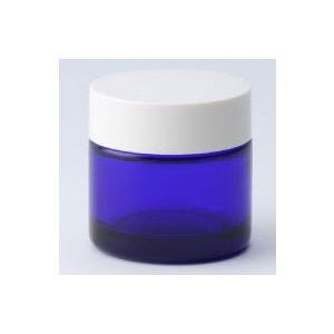 ガラス瓶 クリーム瓶 30g 白CAP C30白キャップ|garasubin
