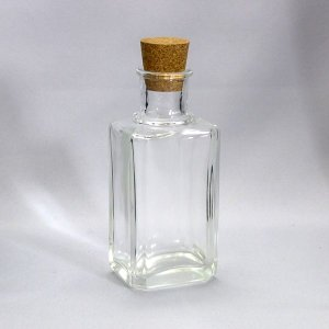 ガラスびんSHOP オリジナルボトル CCR001-F 透明|garasubin