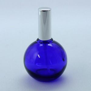 スプレー瓶 球瓶 ルリ色 スプレー瓶 30ml 遮光瓶