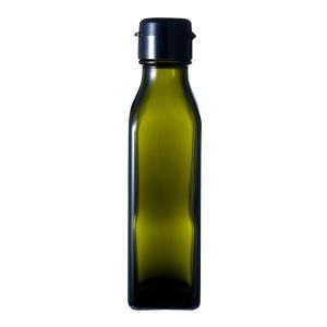 ガラス瓶 ドレッシング・タレ瓶 調味120角-HC-DS 120ml-48本セット- sauce bottle|garasubin